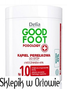 Delia Kąpiel perełkowa do stóp GOOD FOOT PODOLOGY