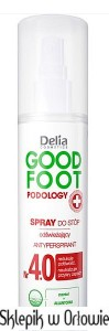 Delia Odświeżający spray do stóp GOOD FOOT PODOLOGY