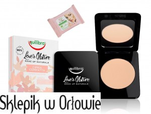 Equilibra Love's Nature Puder w kompakcie