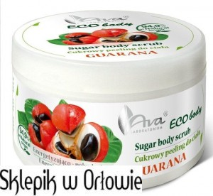 AVA ECO BODY Peeling Guarana 250g