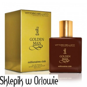 Vittorio Bellucci Exclusive Perfume Golden Man 100ml Verona