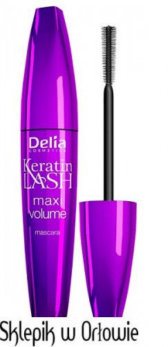 Maskara ideal maxi volume KERATIN LASH DELIA COSMETICS 12ml.jpg